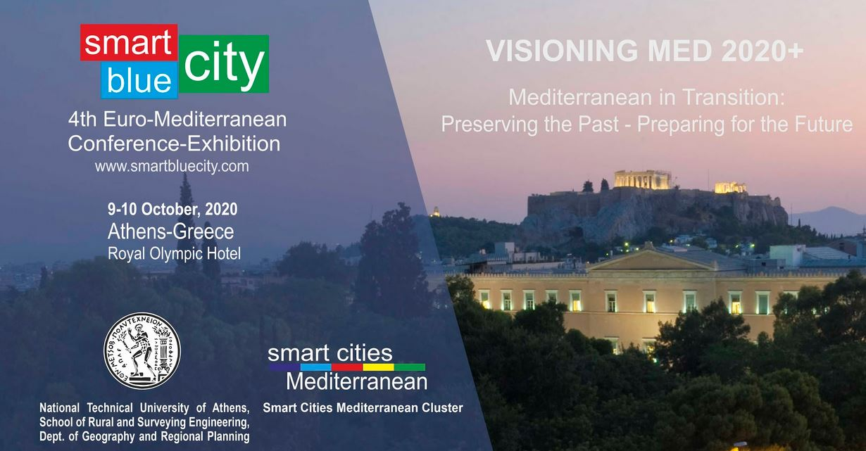 4th SmartBlueCity Euro-Mediterranean Conference, 9-10 October 2020, Athens - Greece