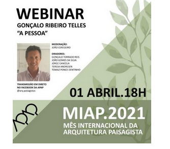 APAP - Associação Portuguesa dos Arquitectos Paisagistas marks World Landscape Architecture Month by series of events!