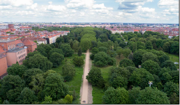 """""""Anita Berber Park"""" Berlin, Germany - Landscape Architect's projects which improve the access to and use of green space for disadvantaged groups"""