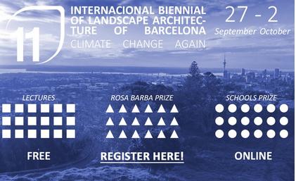 11th International Biennial of Landscape Architecture of Barcelona