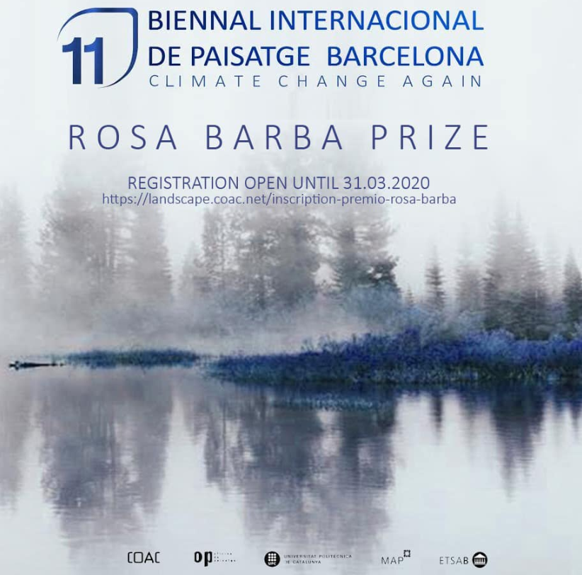 11th Barcelona Landscape Biennial! Submit your works before 31 March 2020!