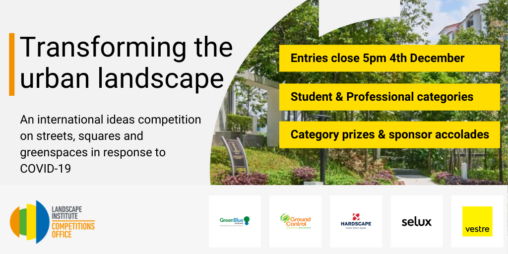 "Landscape Institute competition ""Transforming the Urban Landscapes"""
