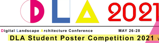 22nd Digital Landscape Architecture Conference - Call for Posters!