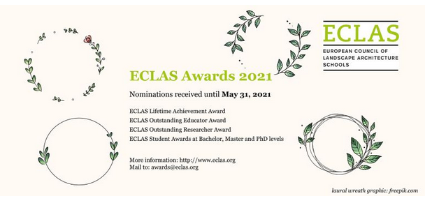 Call for ECLAS Awards 2021 nominations!