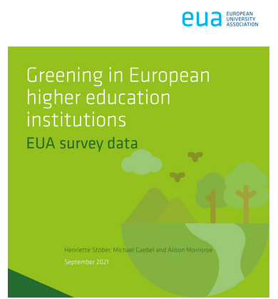 EUA - European University Association Survey on Greening in European higher education institutions