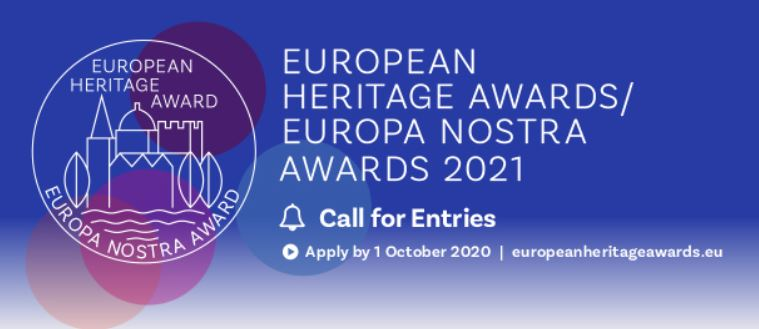 The European Heritage Awards / Europa Nostra Awards 2021 are open for submissions!