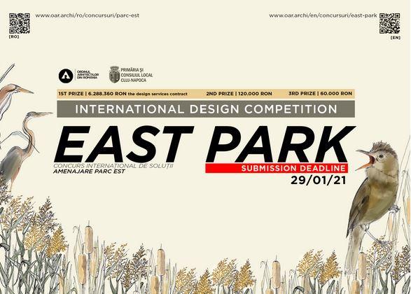 EAST PARK/PARC EST - International Design Competition Launch/Lansare Concurs Internațional de Soluții