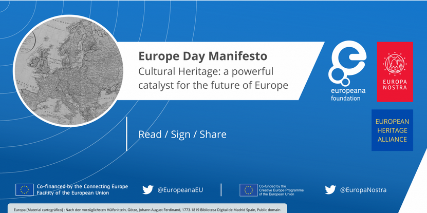 "IFLA Europe joins European Heritage Alliance Manifesto ""Cultural Heritage: a powerful catalyst for the future of Europe"" - Join and sign!"
