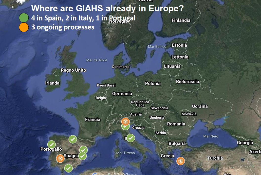 GIAHS in Europe