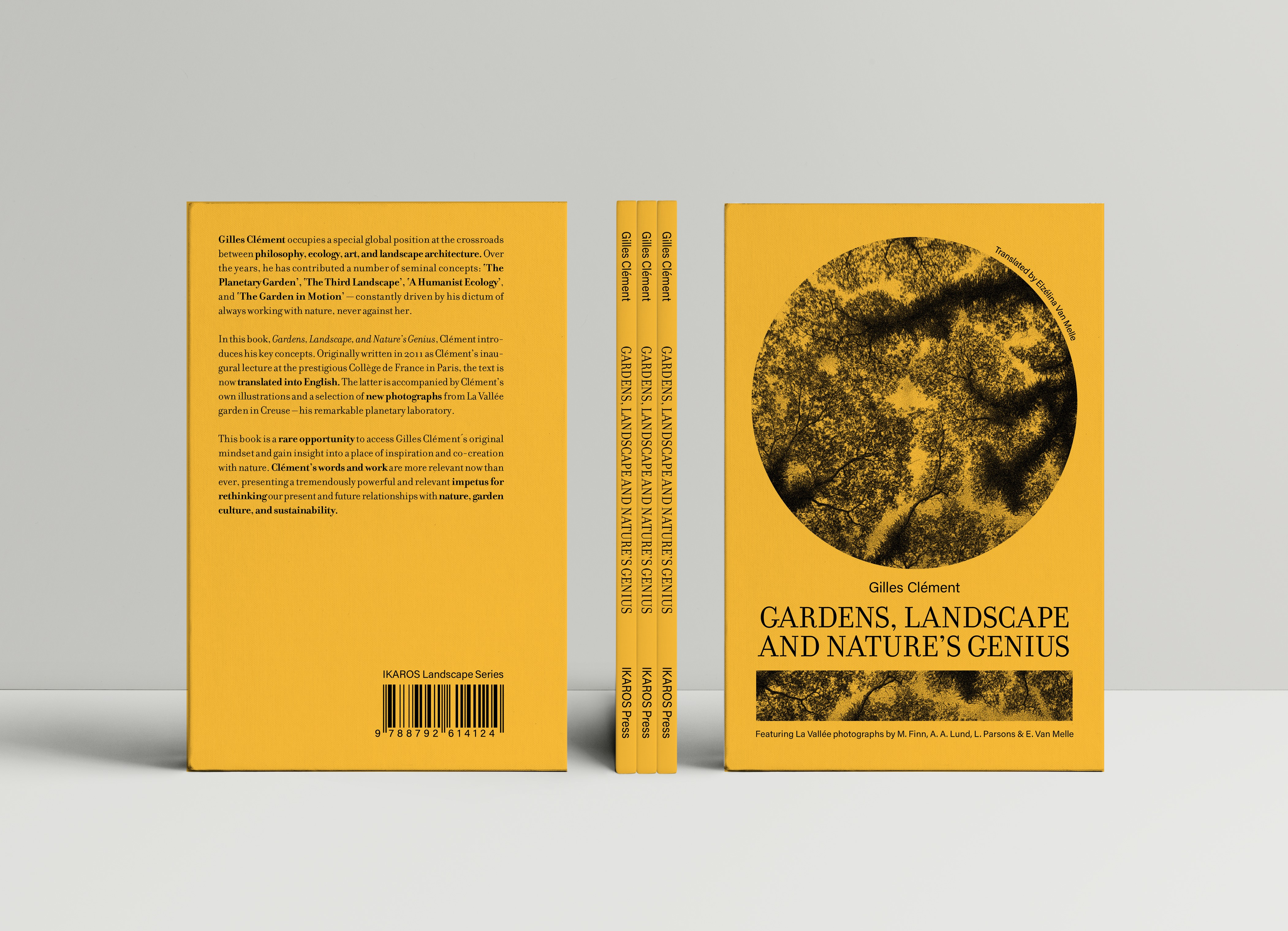 """""""Gardens, Landscape, and Nature's Genius"""" by Gilles Clément now available in English!"""