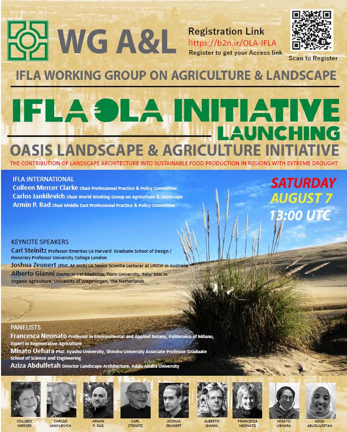 Launch of IFLA OLA INITIATIVE 7 August 2021!