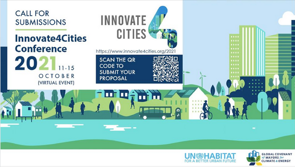 Innovate4Cities 2021 Conference  October 11 – 15, 2021 (Online)