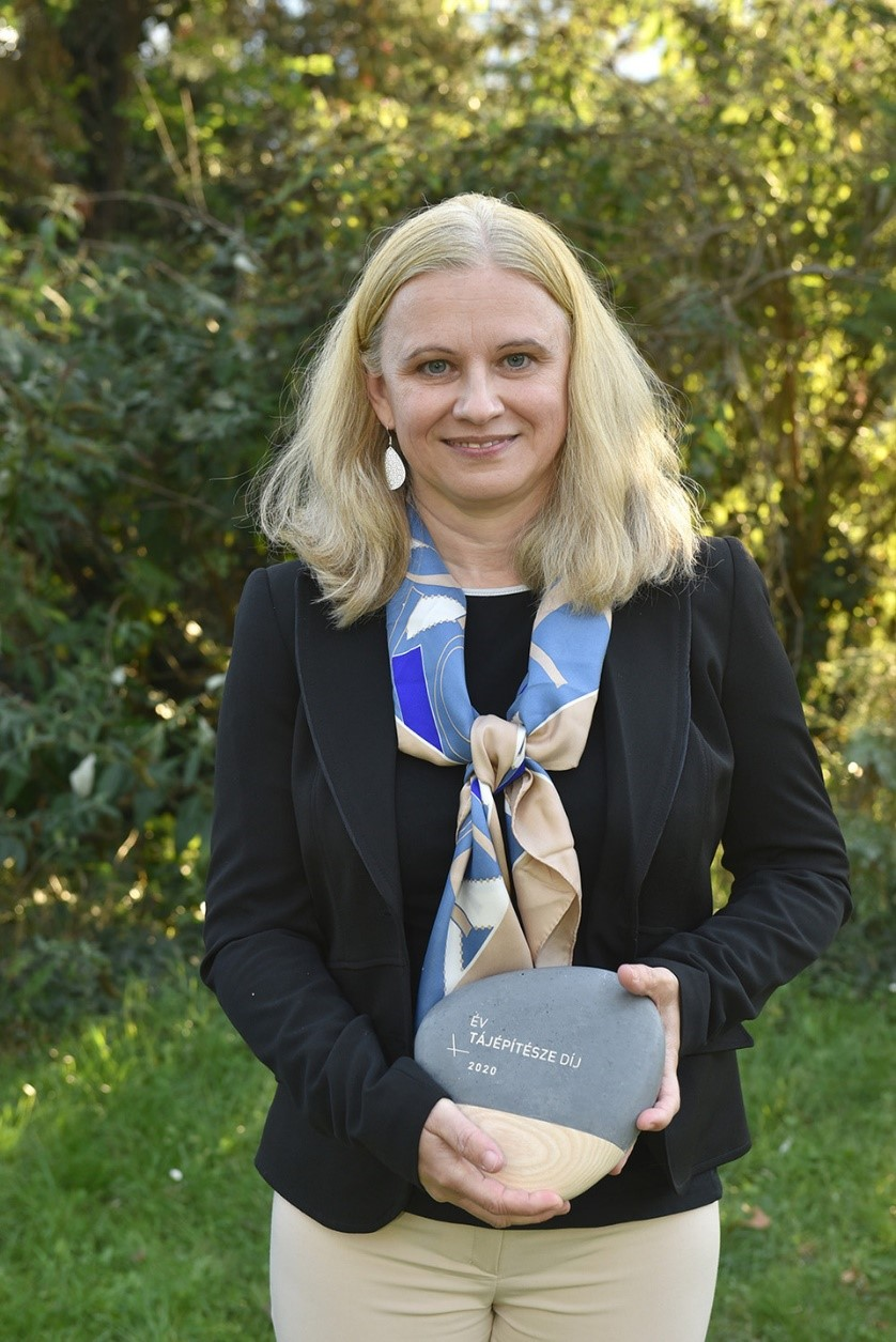 Prize of Landscape Architect of the Year, HALA Hungary awarded to Krisztina KINCSES, Chair of the Conference of European Landscape Convention!