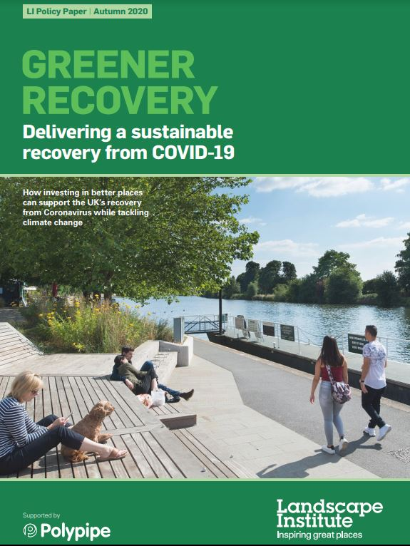 LI launched new policy paper on a green recovery from COVID-19