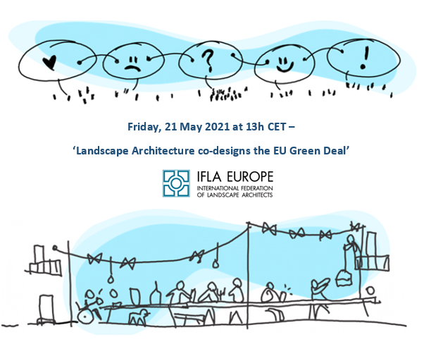 Join us for conversation on the New European Bauhaus – Landscape Architecture co-designs the EU Green Deal!