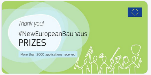 Winners of New European Bauhaus Prizes!
