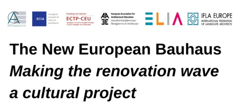 The New European Bauhaus - Making the Renovation Wave a Cultural Project