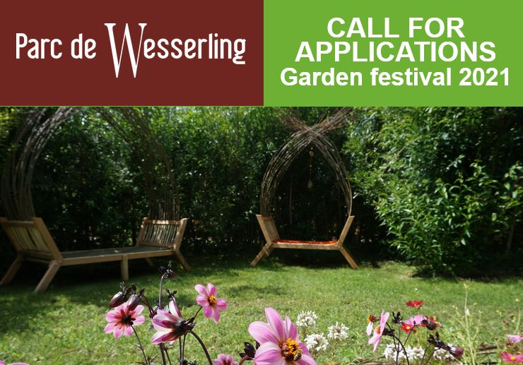Wesserling Park - Call for applications - Garden Festival 2021!