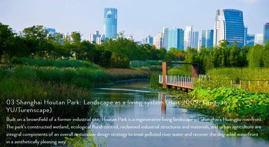 03 Shanghai Houtan Park: Landscape as a living system (Buit 2009, Kongjian YU/Turenscape)