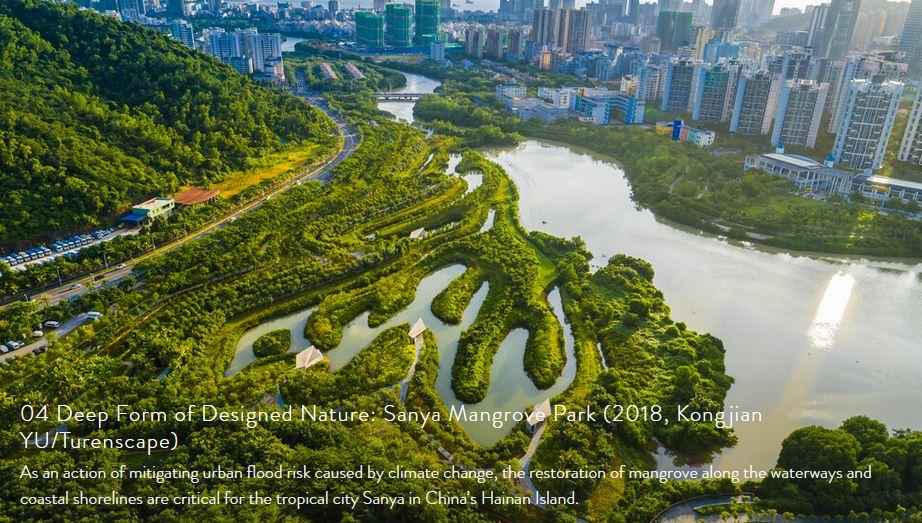 04 Deep Form of Designed Nature: Sanya Mangrove Park (2018, Kongjian YU/Turenscape)