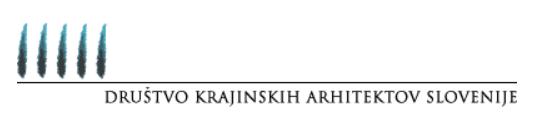 DKAS - Društvo Krajinskih Arhitektov Slovenije