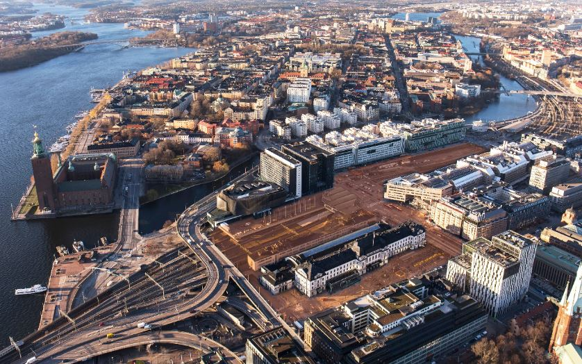 Project about the development the central parts of Stockholm comming up!