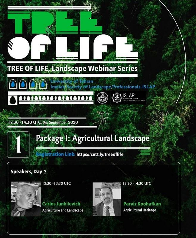 TREE OF LIFE, Landscape Webinar Series