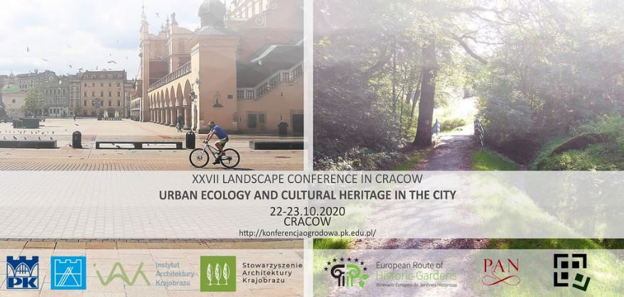 IFLA Europe patronage to IX international edition of the conference 'Urban ecology and cultural heritage in the city', 22-23 October 2020