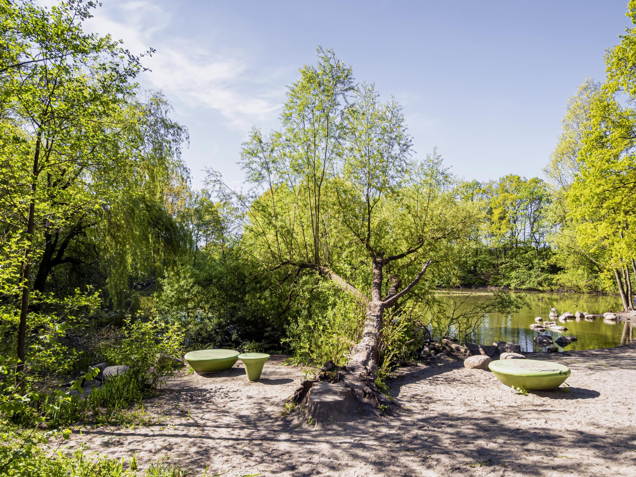 Project 'Big City – little wilderness' Hamburg-Osdorf - project by Landscape Architect to improve access to and use of green space for disadvantaged groups