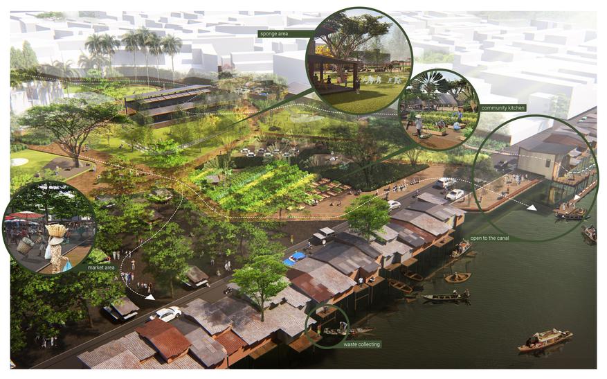 2020_Rapa_Surajaras_Breathe - Redefining a zone of informal settlement_Category A