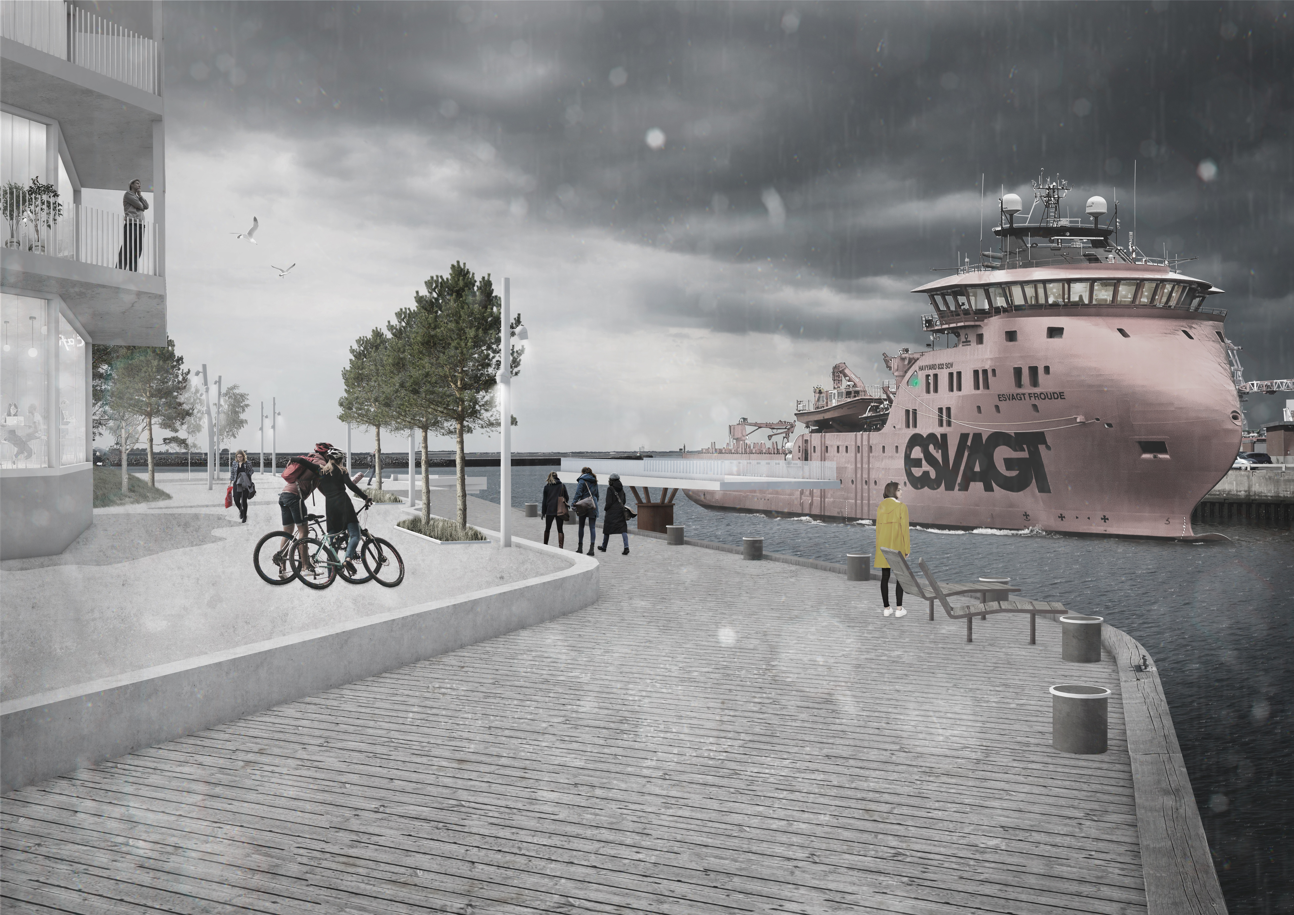 "2020_Magnus Hehlke_Conceptual project ""Esbjerg Havn - Reclaiming the urban fabric of Denmark's Energy Metropolis"